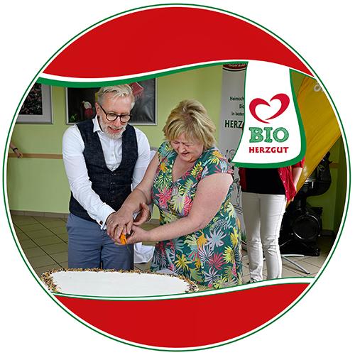 Landwirtschaftsminister besucht HERZGUT Landmolkerei