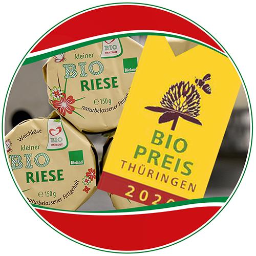 HERZGUT gewinnt Thüringer Bio-Preis