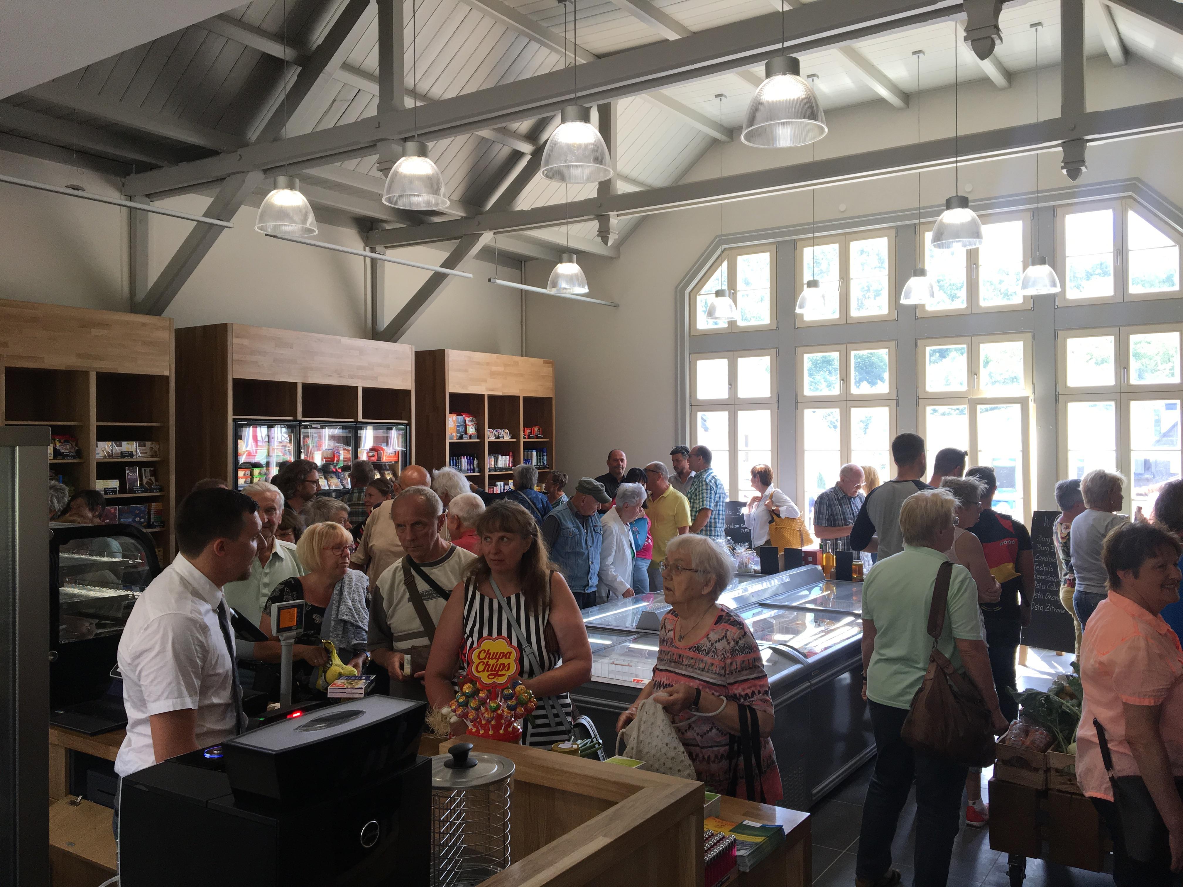 Eröffnung BahnHofladen in Rottenbach