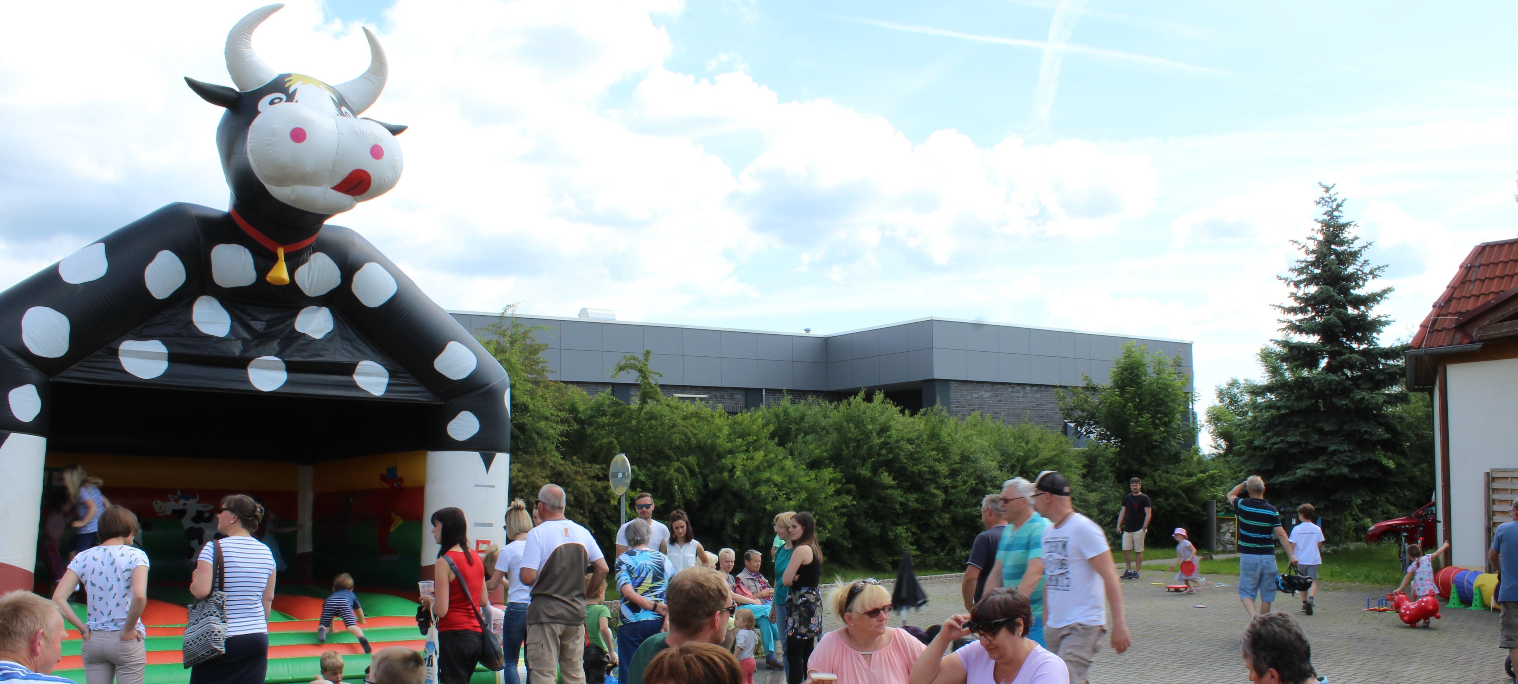 Kinderfest im Saalfelder Bauernmarkt