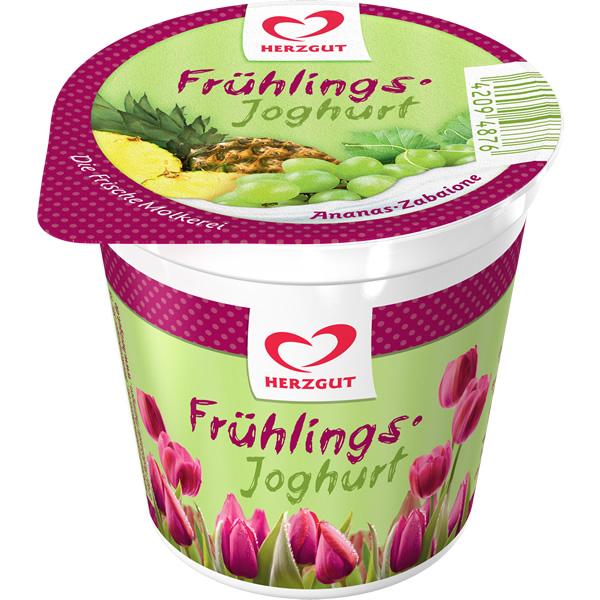 Frühlingsjoghurt Ananas-Zabaione