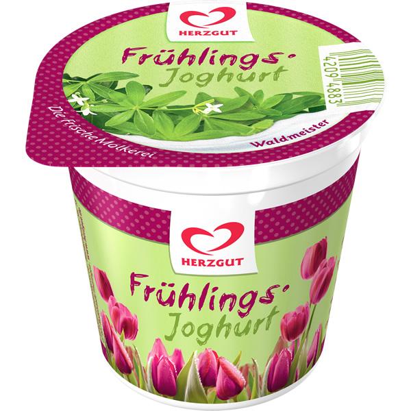 Frühlingsjoghurt Waldmeister