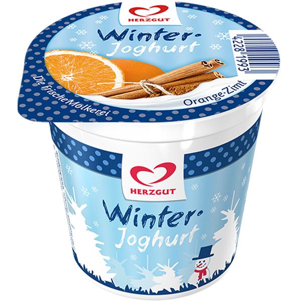 Winterjoghurt Orange-Zimt
