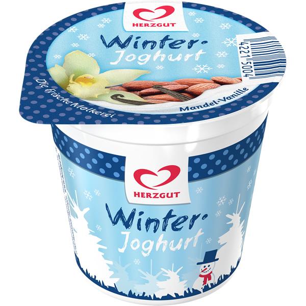 Winterjoghurt Mandel-Vanille