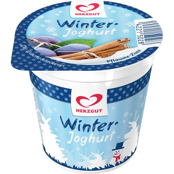 Winterjoghurt Pflaume-Zimt