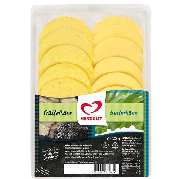 Trüffel-Käse & Butterkäse