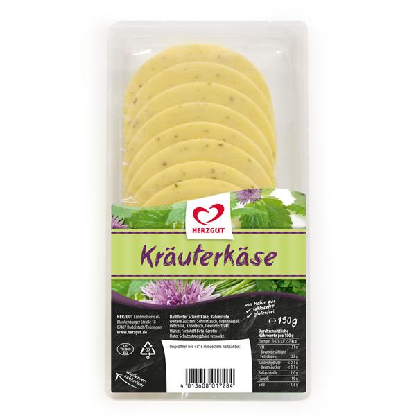 Kräuter-Scheibenkäse