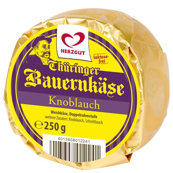 Bauernkäse Knoblauch