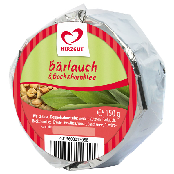 Weichkäse Bärlauch Bockshornklee