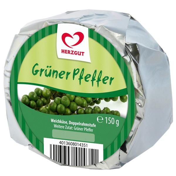 Weichkäse Grüner Pfeffer