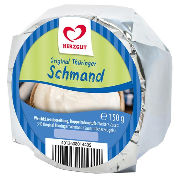 Weichkäse Original Thüringer Schmand