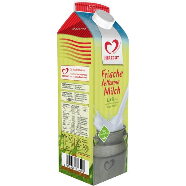 Frische fettarme Milch