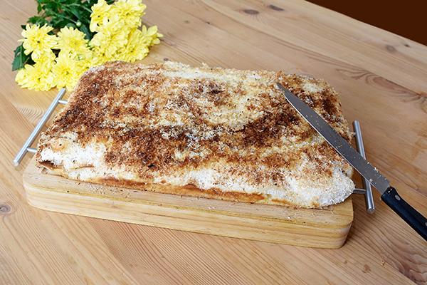 Buttermilch-Kokos Kuchen mit frischer HERZGUT Buttermilch