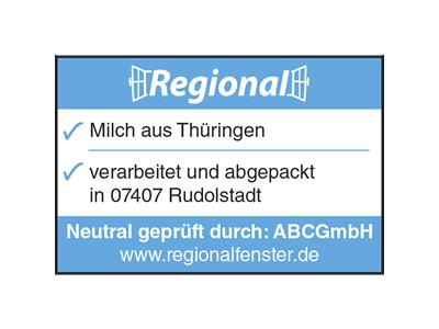 Zertifikat Regionalfenster